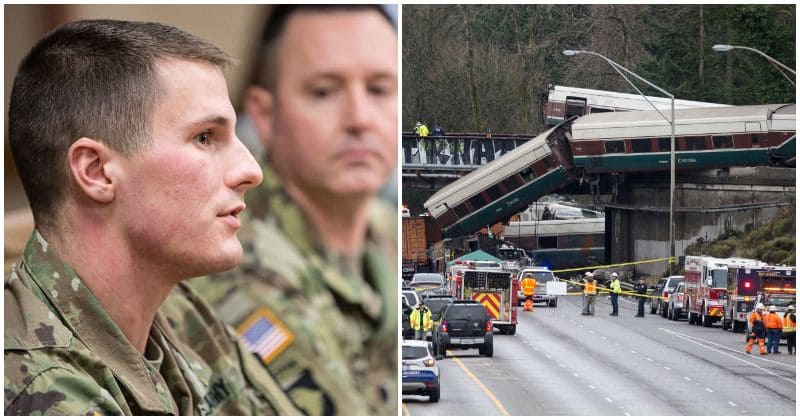 Amtrak derailment: Heroic soldier risks life to save countless passengers after crash