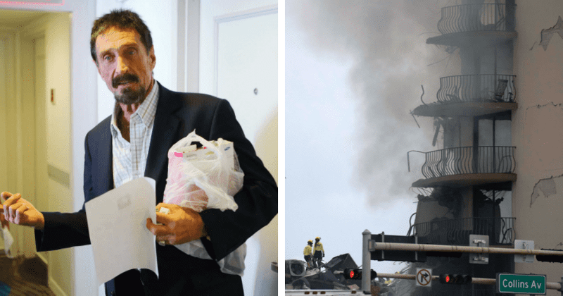 Conspiracy theory links John McAfee to Surfside building collapse: '31TB of government secrets'