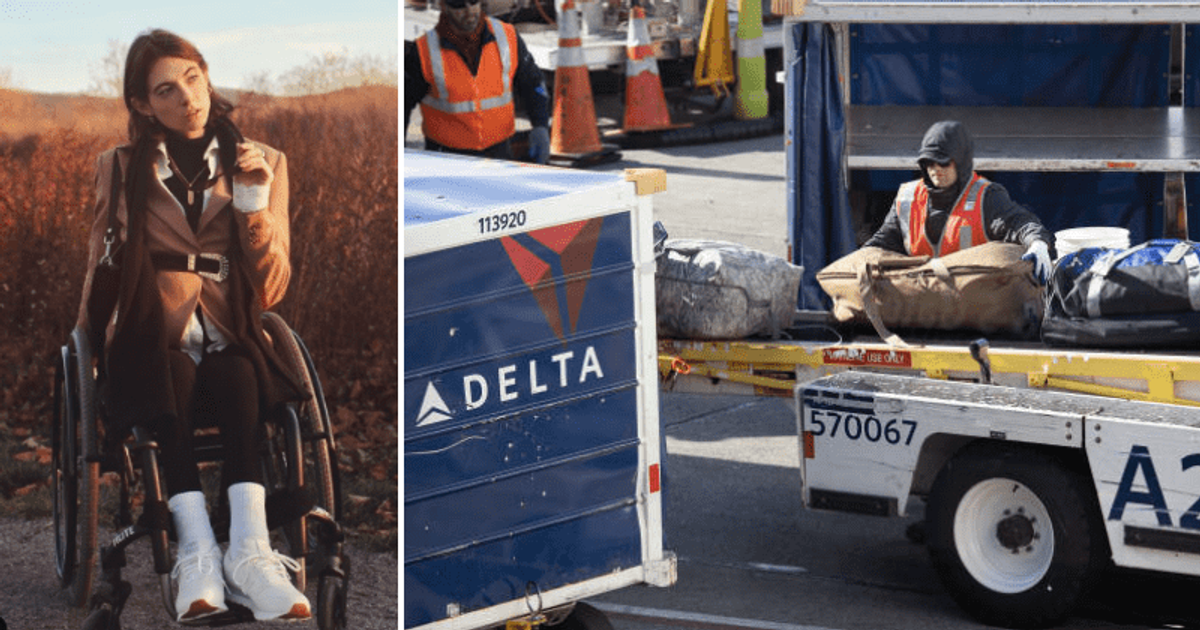 Who is Bri Scalesse? Disabled model blasts Delta Airlines for 'breaking her  wheelchair'   MEAWW