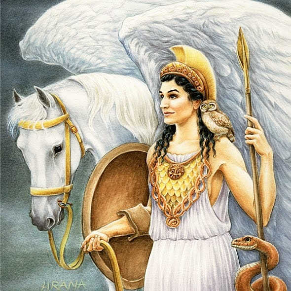 Which Greek/Roman goddess do you resemble? 1