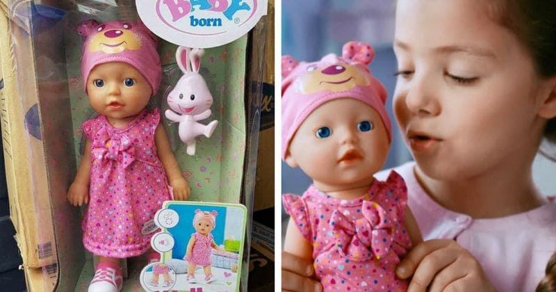 Mother shocked after doll she bought for daughter on Christmas called her a b****!