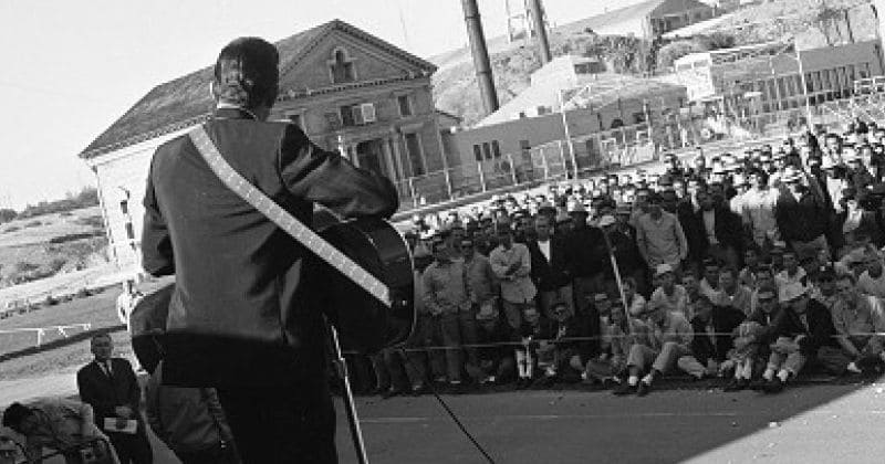 50 years after Johnny Cash made history at Folsom Prison, the music lives on