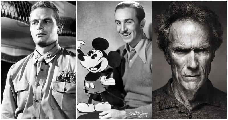 11 Hollywood icons who served their country