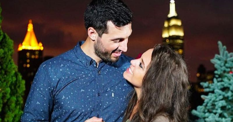 Jinger Duggar pregnant with her first child with husband Jeremy Vuolo