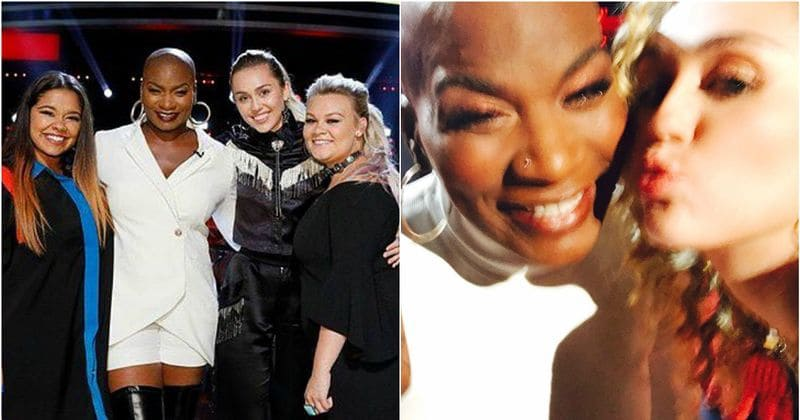 Miley Cyrus is amazing! Just look what she did for her Voice team member, Janice Freeman
