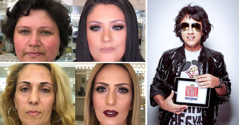 Amazing: This makeup artist makes clients as old as 80 look several decades younger