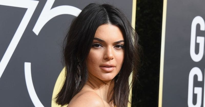 Kendall Jenner's fans come to her rescue as cruel trolls mock her skin at the Golden Globes