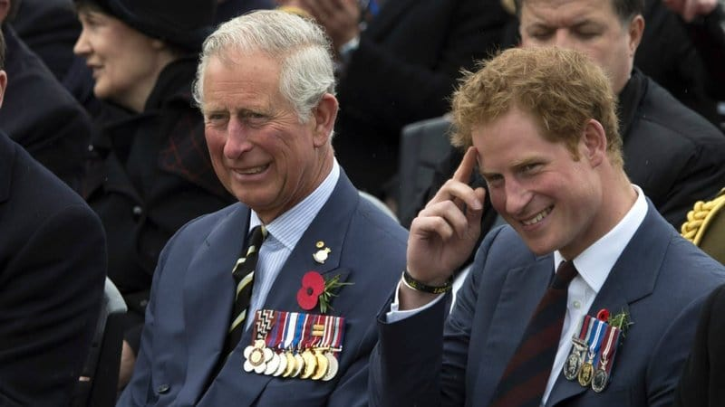 prince charles and harry