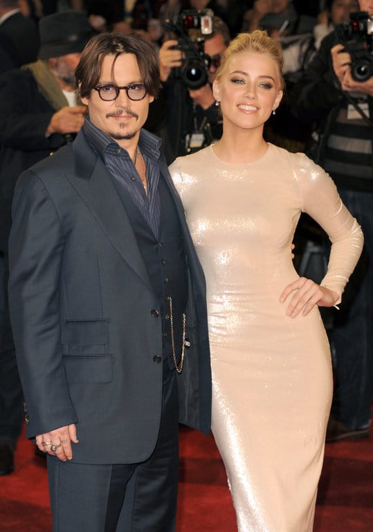johnny depp and wife