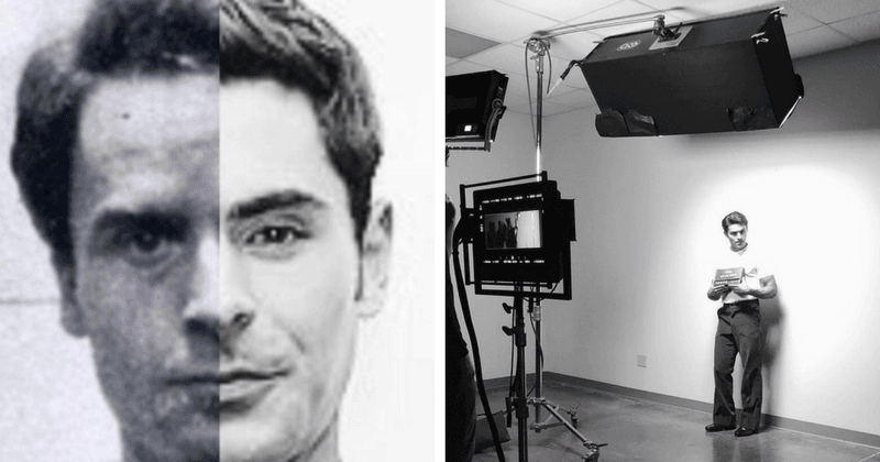 Zac Efron reveals his first look as Ted Bundy and it's sending chills down our spine