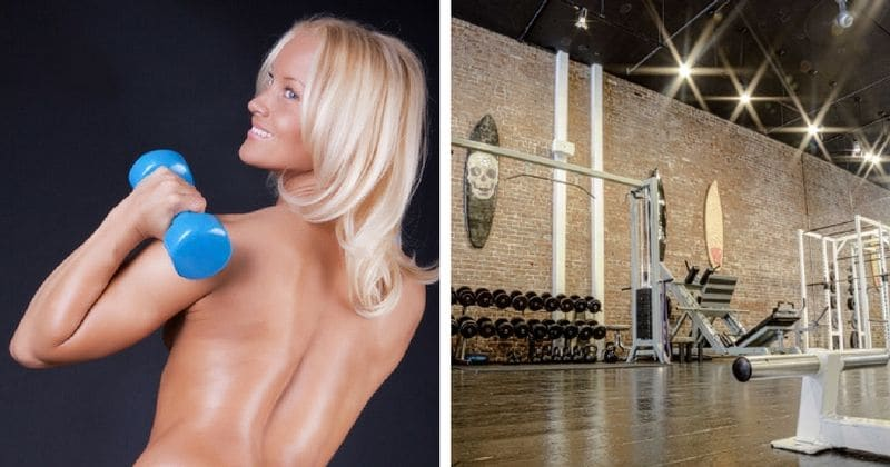 New trend alert: Working out naked could be the answer to your fitness woes
