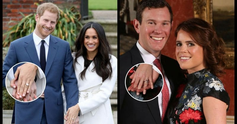 Princess Eugenie's engagement ring is double the value of Meghan Markle's!