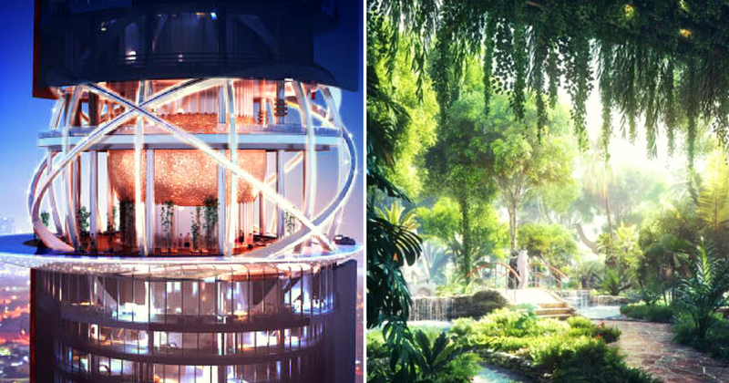 Dubai to open world's first hotel with its own rainforest