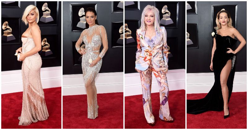 The sexiest outfits that made it to the Grammys 2018 red carpet