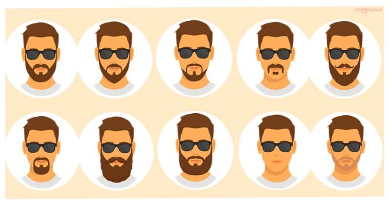 What does the your facial hair reveal about your personality?