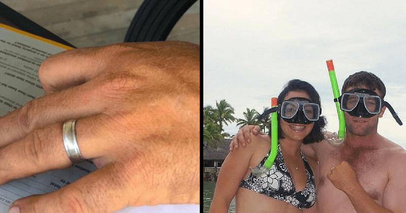 Australian man reunited with wedding ring he lost on his honeymoon in Fiji 10 years ago