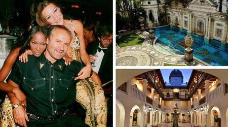 The opulent home of Gianni Versace gives us a peek into his extravagant lifestyle