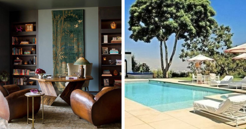 Here's a quick tour of Jennifer Aniston's beautiful and dreamy Bel Air home