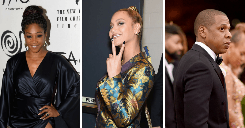 Tiffany Haddish witnessed first hand how Beyonce handles women who get too close to her man, Jay-Z