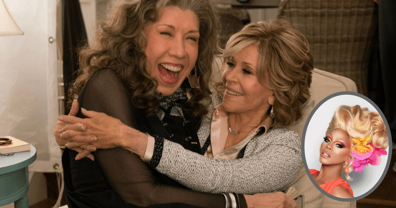 Hey Drag Race fans, time to get sickening with Season 5 of Grace and Frankie!