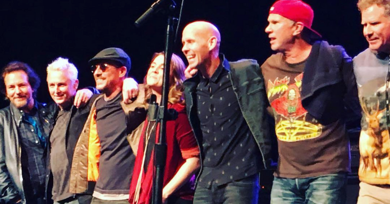 Watch: Will Ferrell, Eddie Vedder, Chad Smith cover 'Personal Jesus' for charity