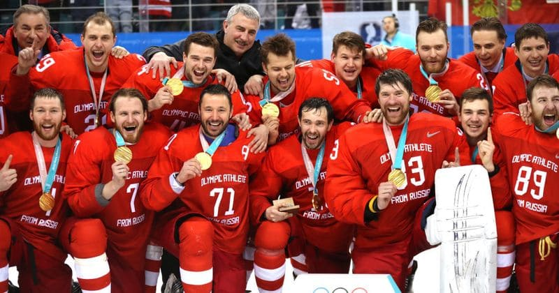 How an ice hockey team without a country won gold at the Winter Olympics