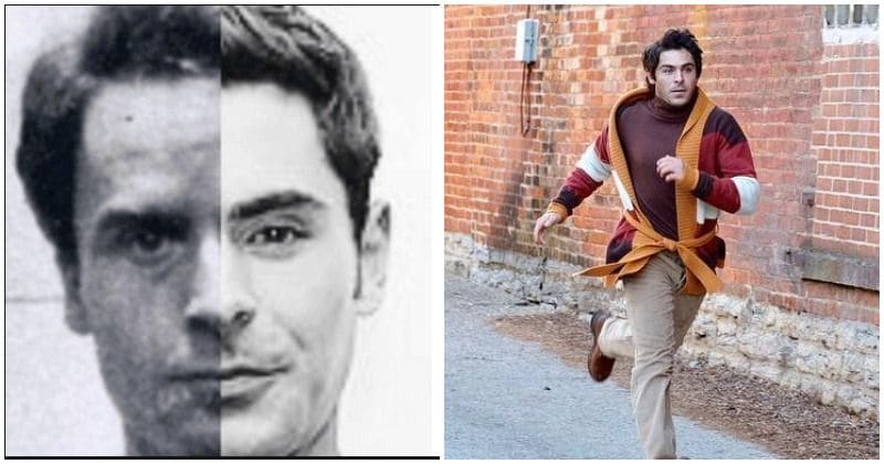 Zac Efron shows a striking resemblance to Ted Bundy in these behind-the-scenes photos