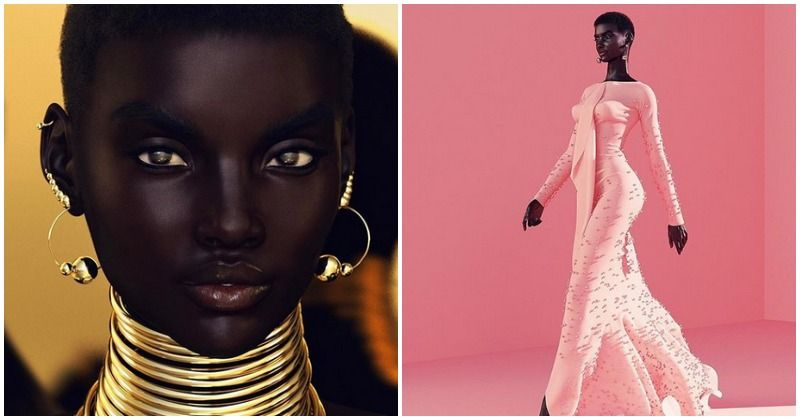 British photographer creates dark-skinned models using 3D imaging and people are unhappy